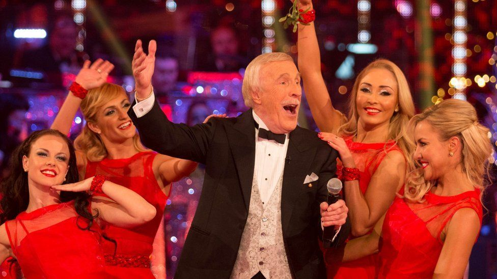 Sir Bruce Forsyth, Strictly Christmas Special 2014