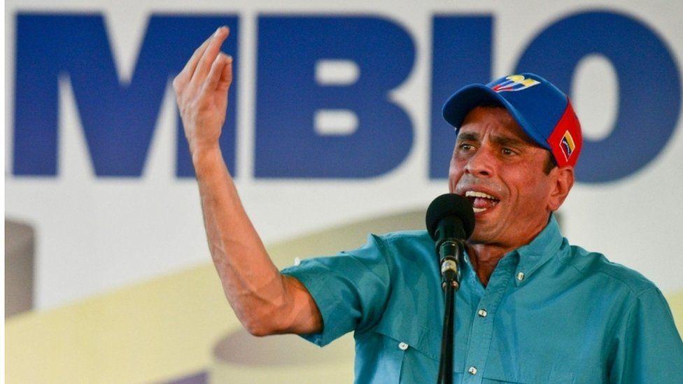 Venezuelan politician Henrique Capriles