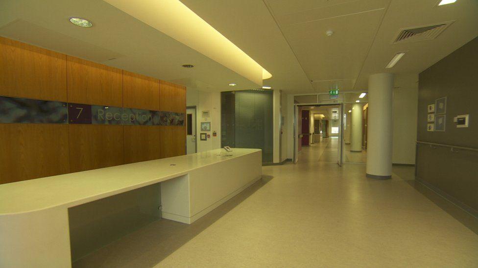 Critical care interior