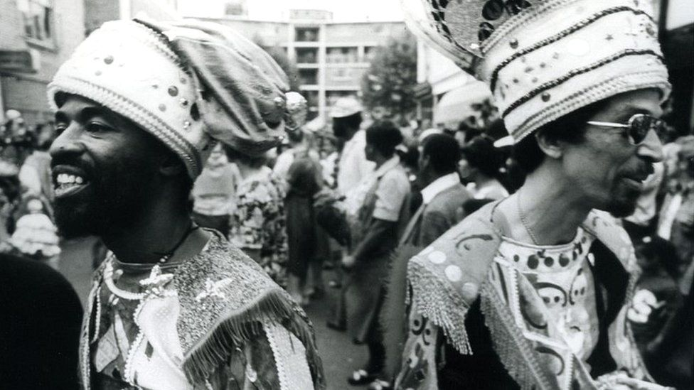 Notting Hill Carnival in 1976