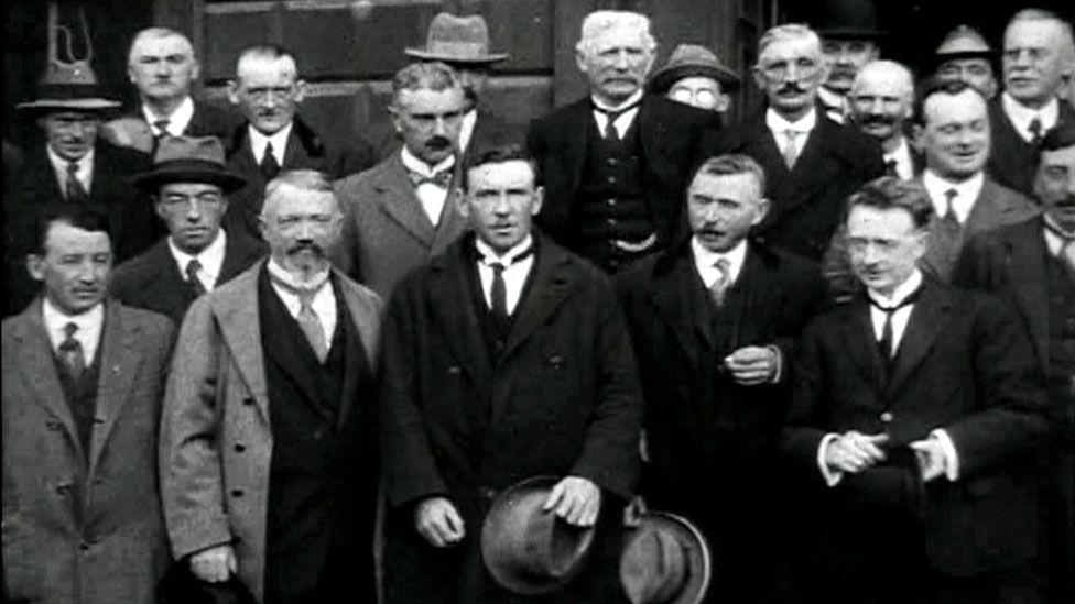 Members of the Dáil in 1922