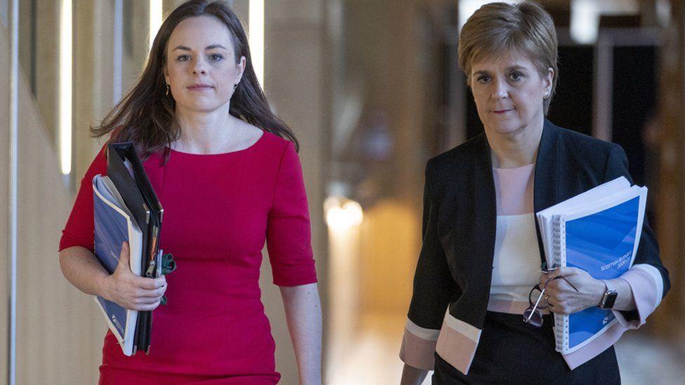 Kate Forbes and Nicola Sturgeon