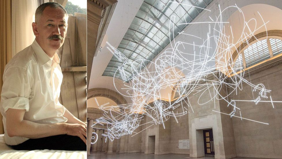 Cerith Wyn Evans/Forms in Space by Light