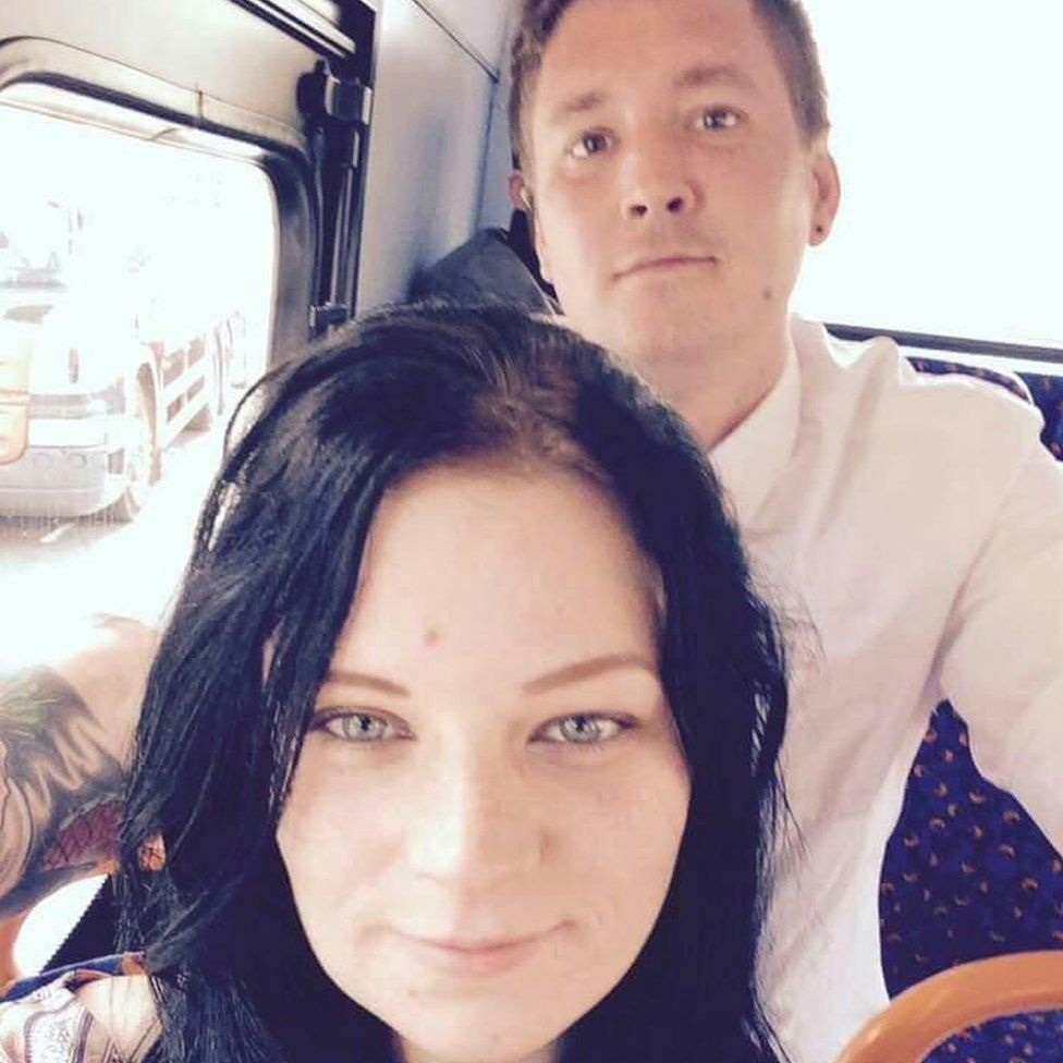 Melissa Wood and Christopher Linley