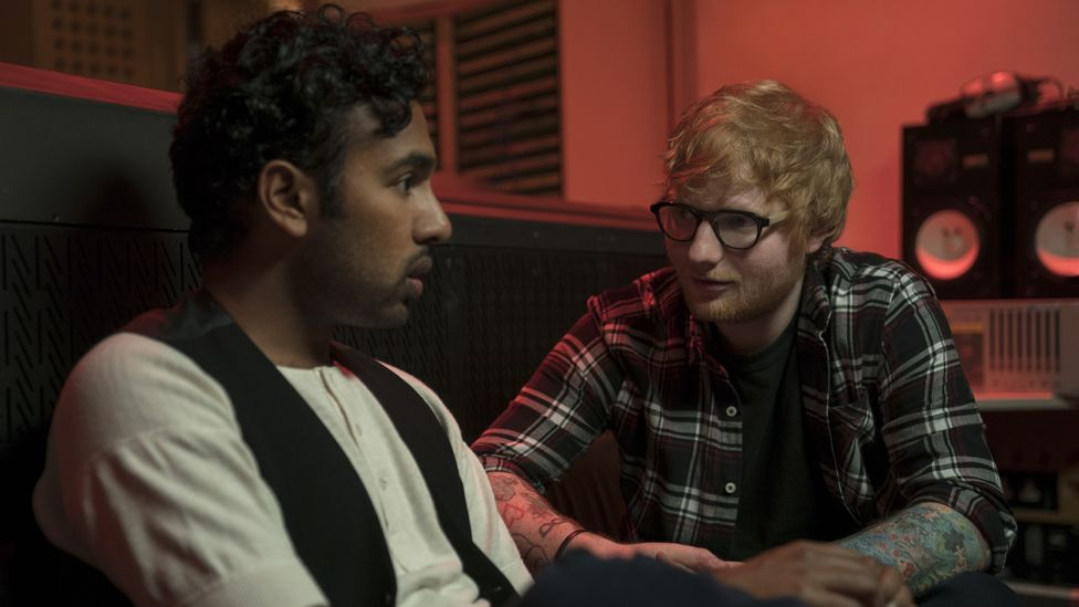 Himesh Patel and Ed Sheeran