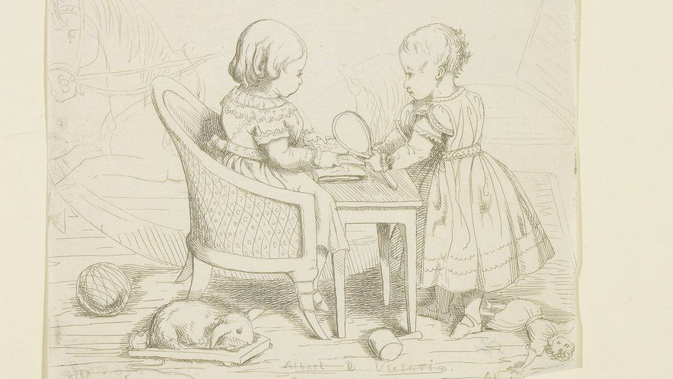 Prince Albert, Prince Consort, consort of Victoria, Queen of the United Kingdom, Albert & Victoria, 8 Jan 1843