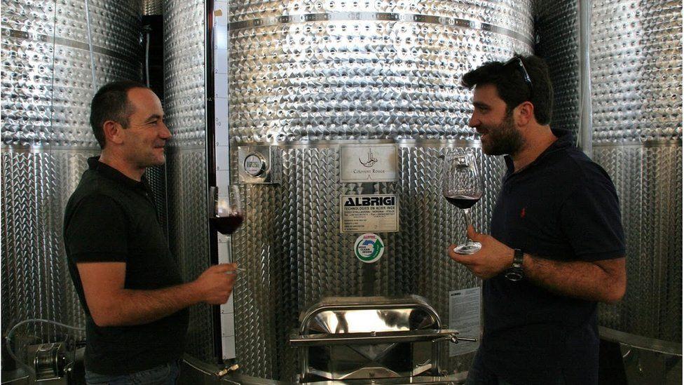 Walid Habchi (left) and Faouzi Issa