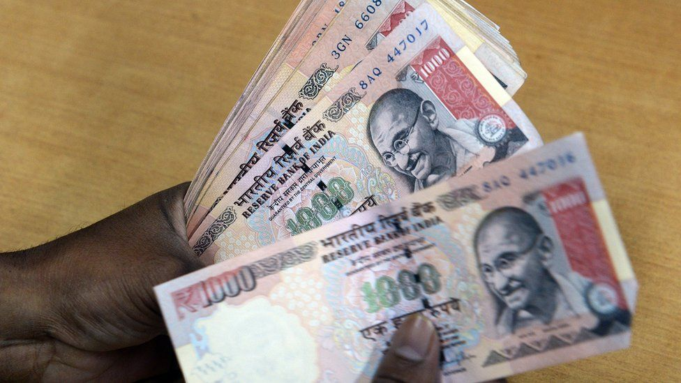 India currency notes