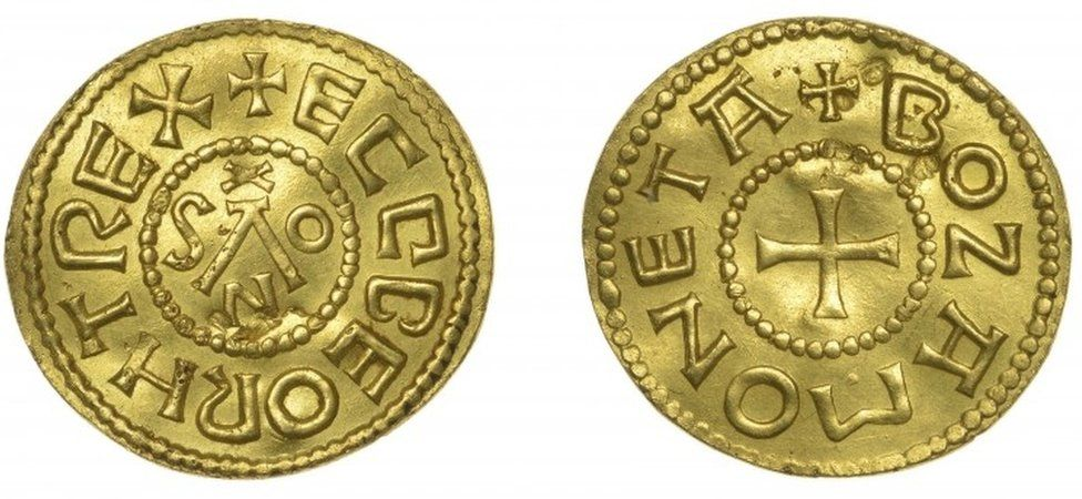 Gold Penny, or Mancus of 30 Pence