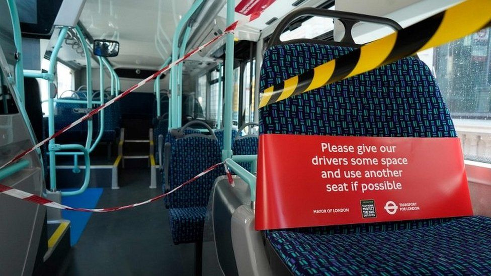 London bus safety measures