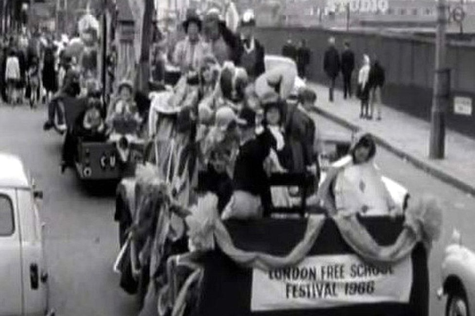 Parade in 1966