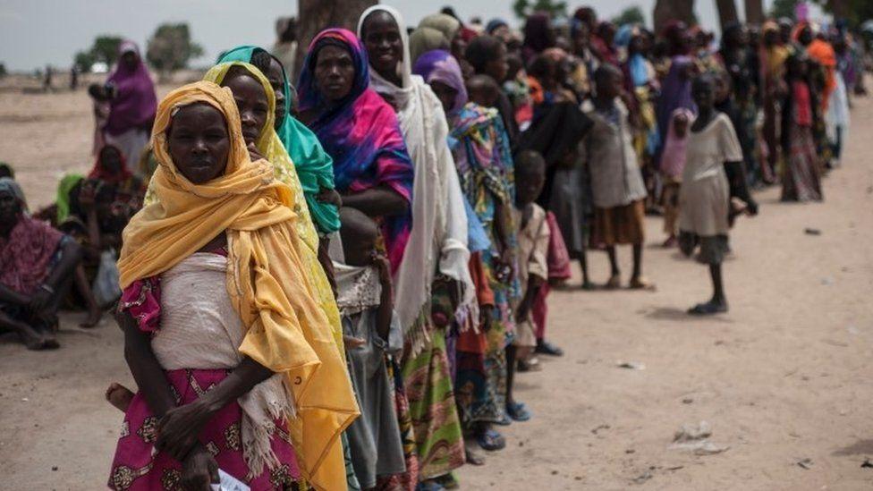 People displaced by Boko Haram