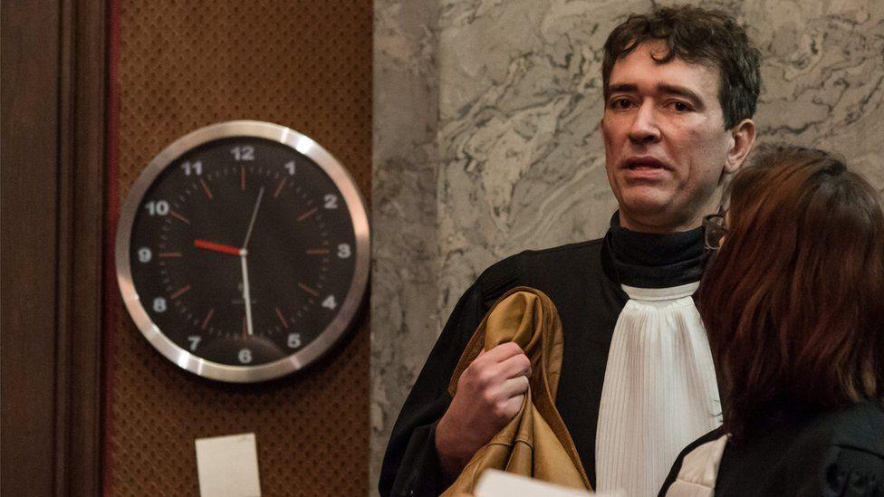 Belgian Sebastien Courtoy, lawyer of Mehdi Nemmouche
