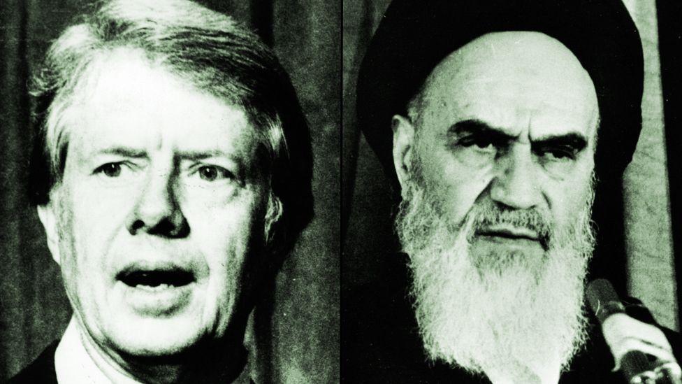 Jimmy Carter and Ayatollah Khomeini