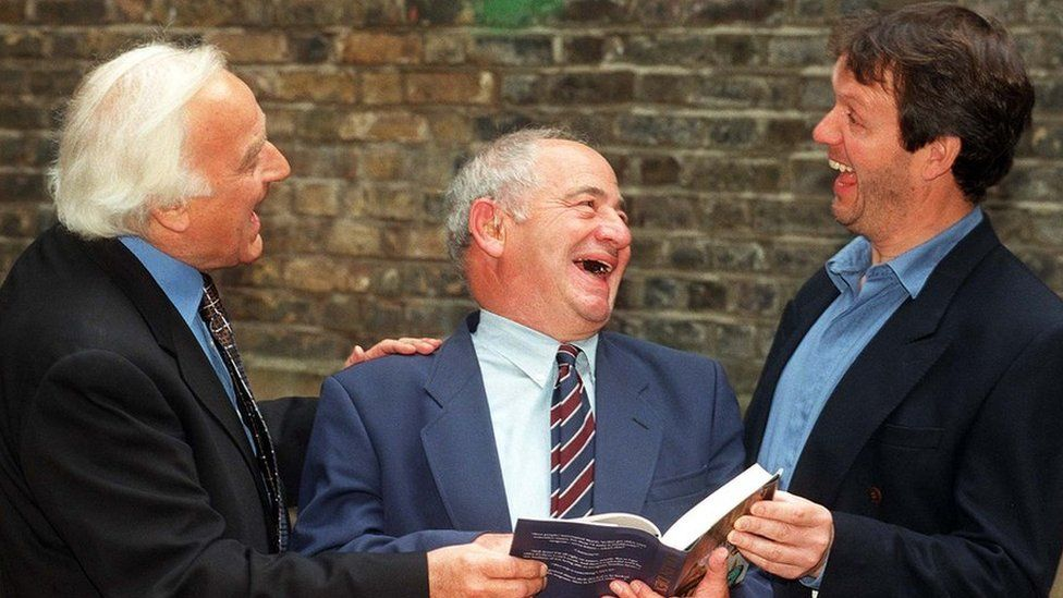 John Thaw, Colin Dexter and Kevin Whately
