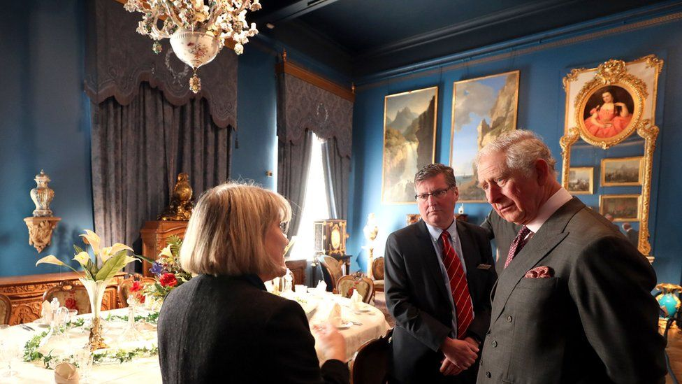 Prince Charles at Bowes Museum
