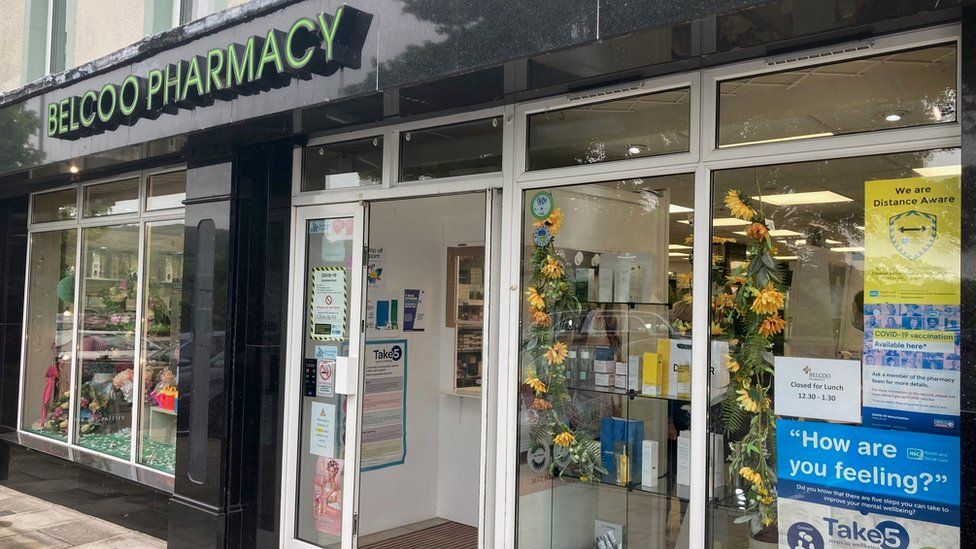 A pharmacy in Belcoo