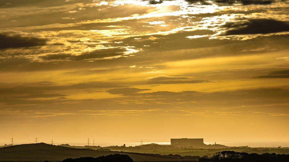 Wylfa from a distance