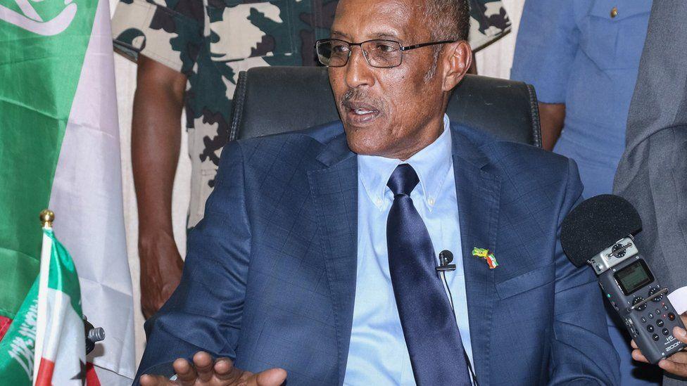 Somaliland's president-elect Muse Bihi Abdi