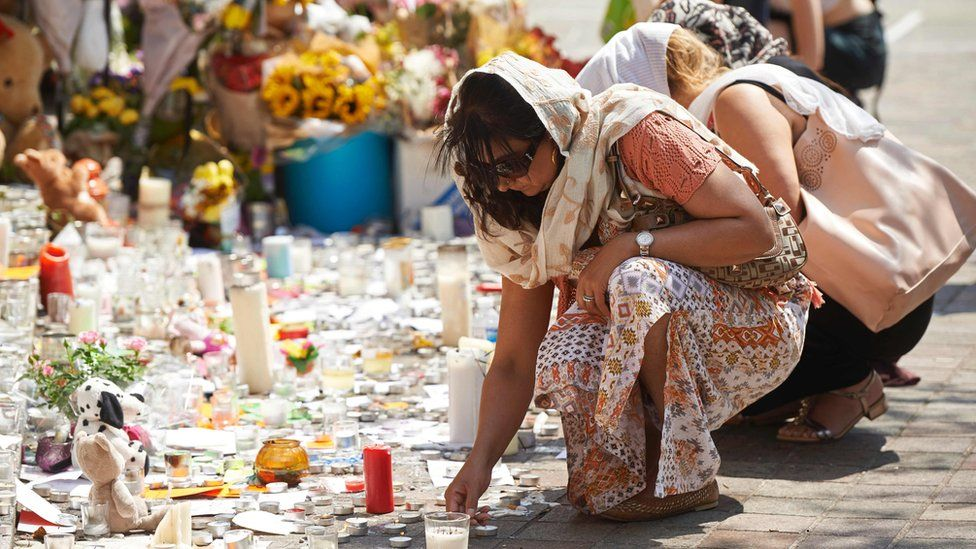 Well-wishers have been leaving tributes at Grenfell Tower