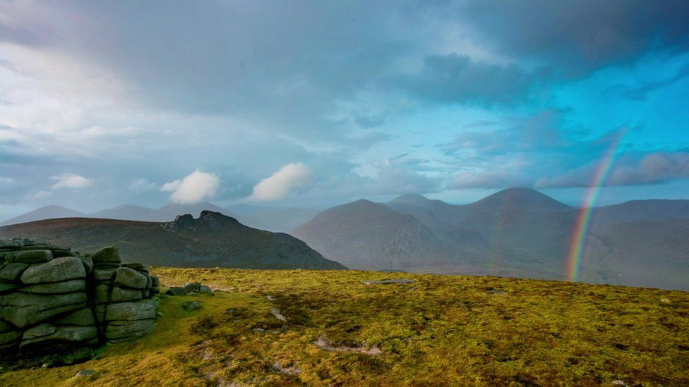 Mourne scenery
