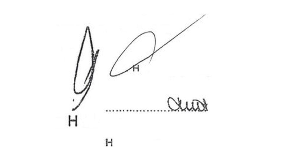 signatures illustration four