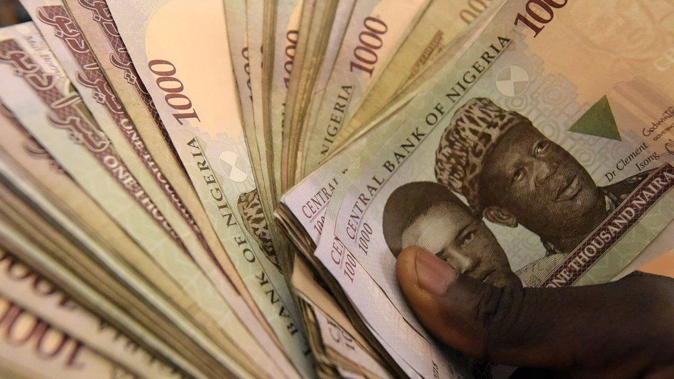 Nigerian currency notes