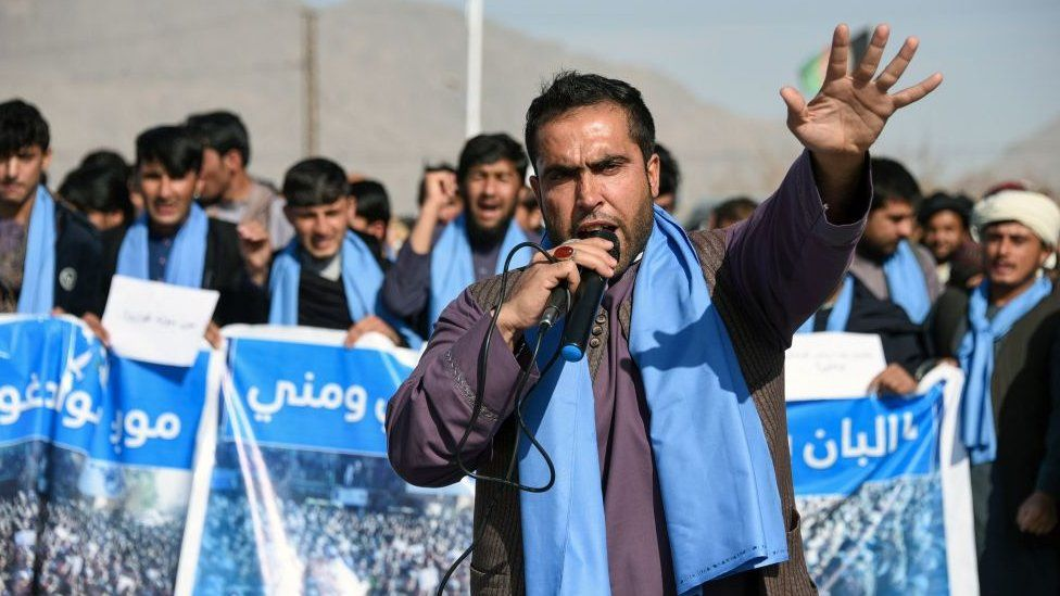 People's Peace Movement protest in Kandahar - January 2019
