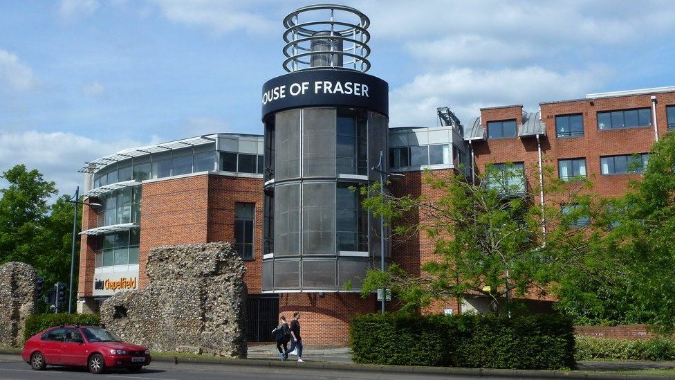 House of Fraser in Norwich