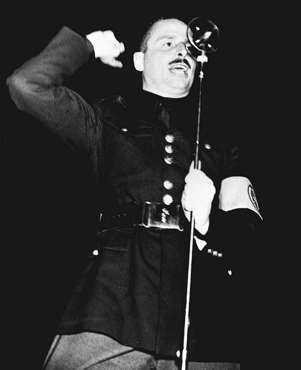Sir Oswald Mosley in 1936