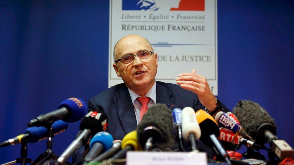 Marseille prosecutor Brice Robin