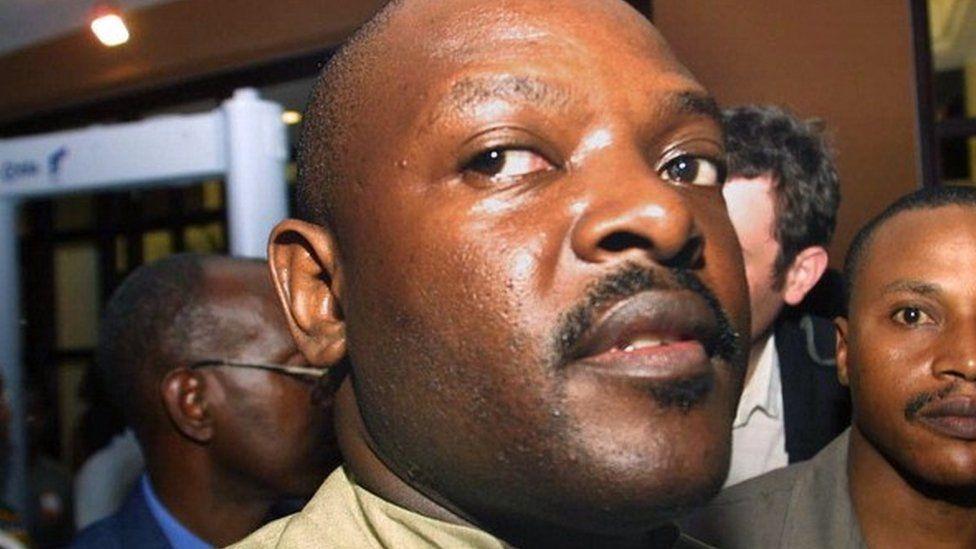 Pierre Nkurunziza (16 September 2003)