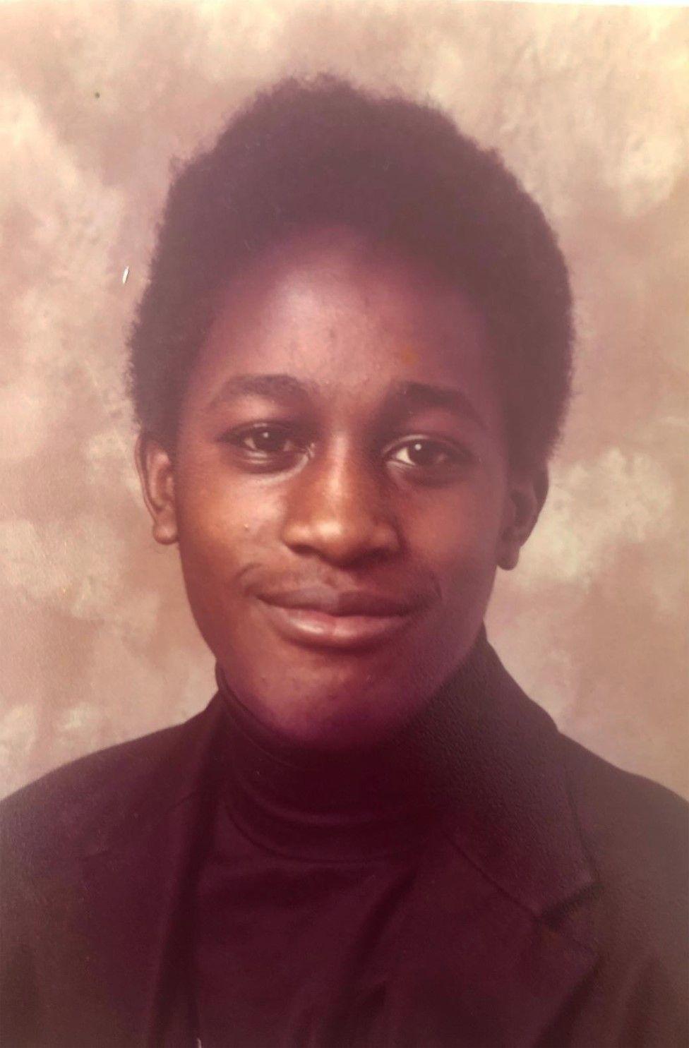 Tony Kofi aged 15