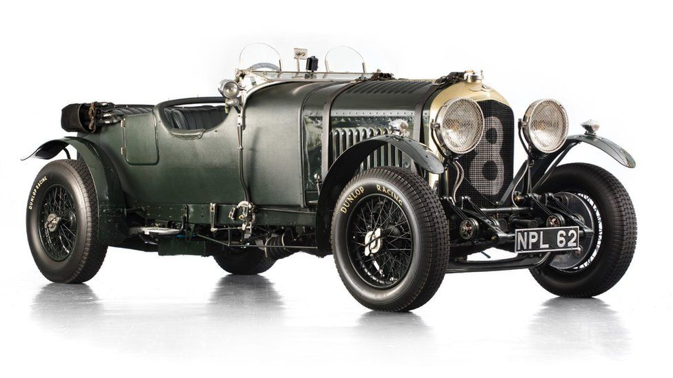 A 1930 Bentley four-and-a-half litre Le Mans-style tourer