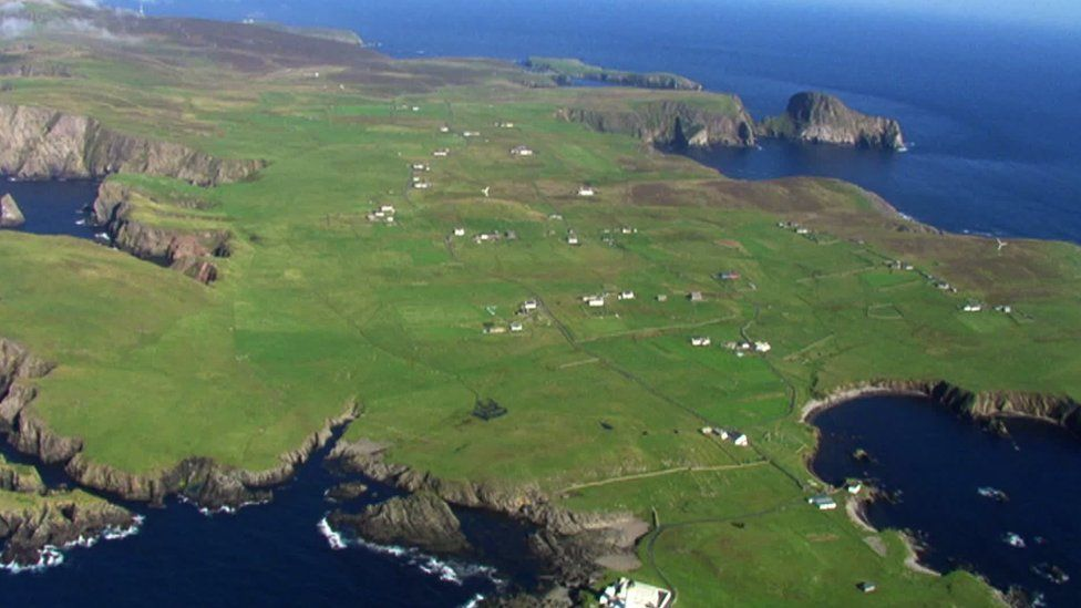 Fair Isle is one of the UK's most remote islands