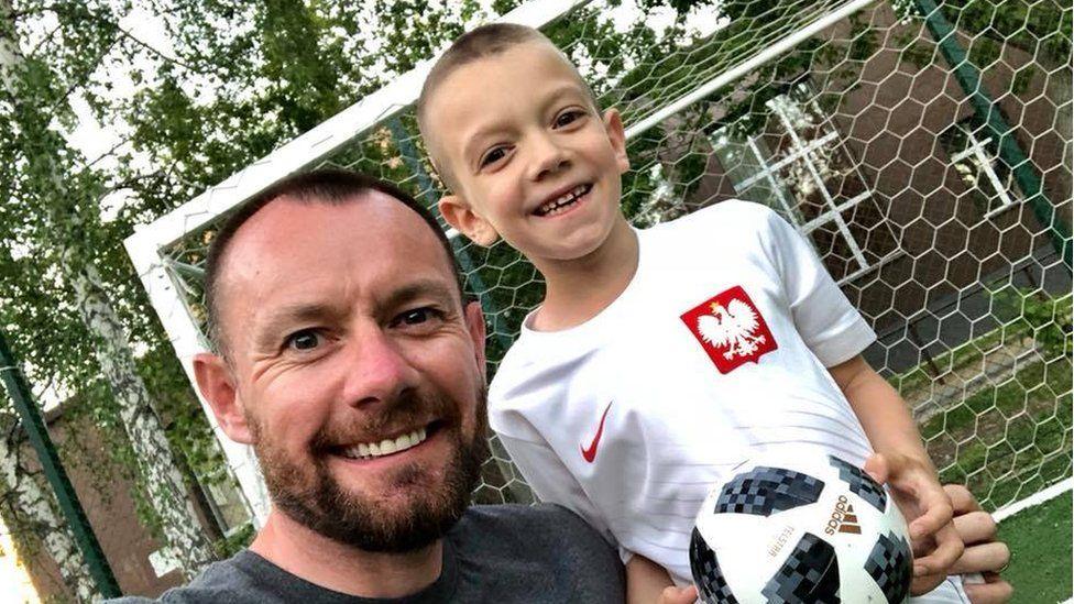 Iain and Aleks Meiklejohn