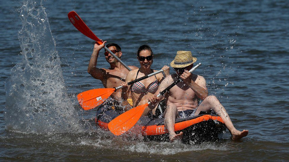 Kayak in Portobello