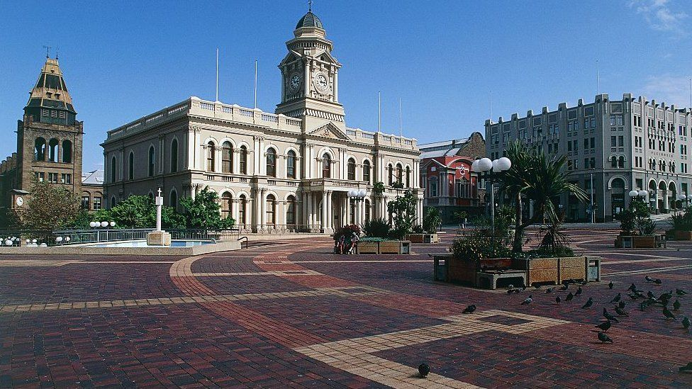 Port Elizabeth city buildings