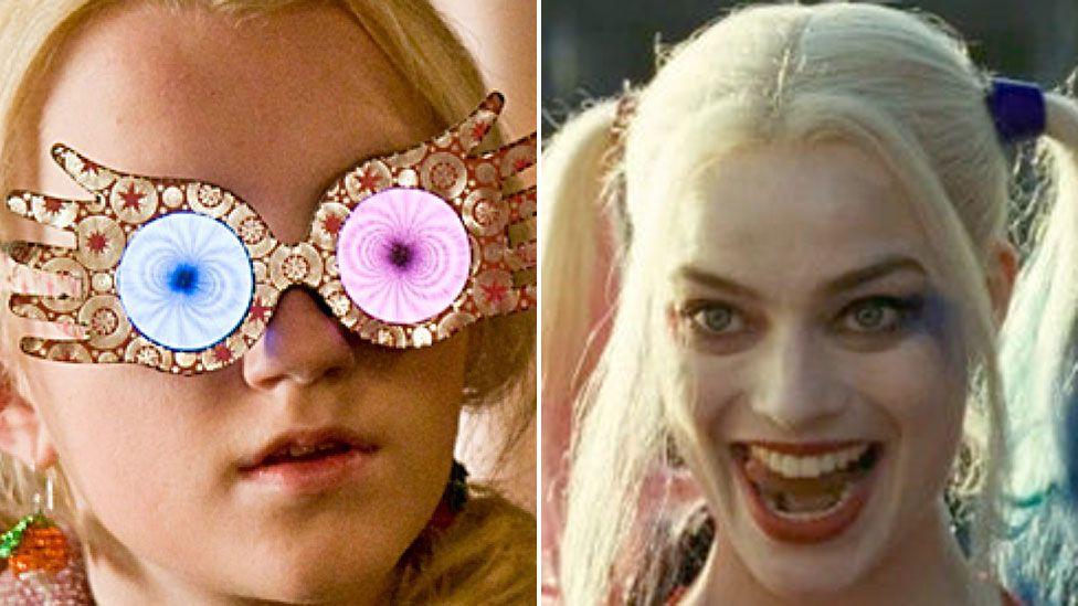Luna LOvegood and Harley Quinn