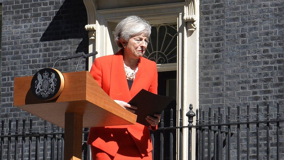 May's exit could be 'dangerous' for Ireland - Varadkar