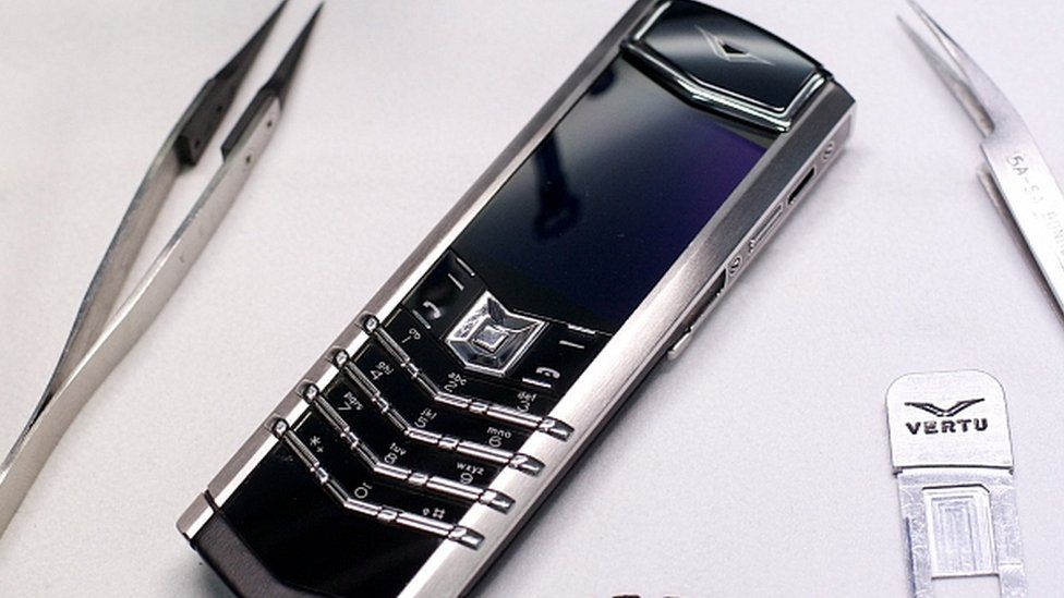 Vertu Signature phone