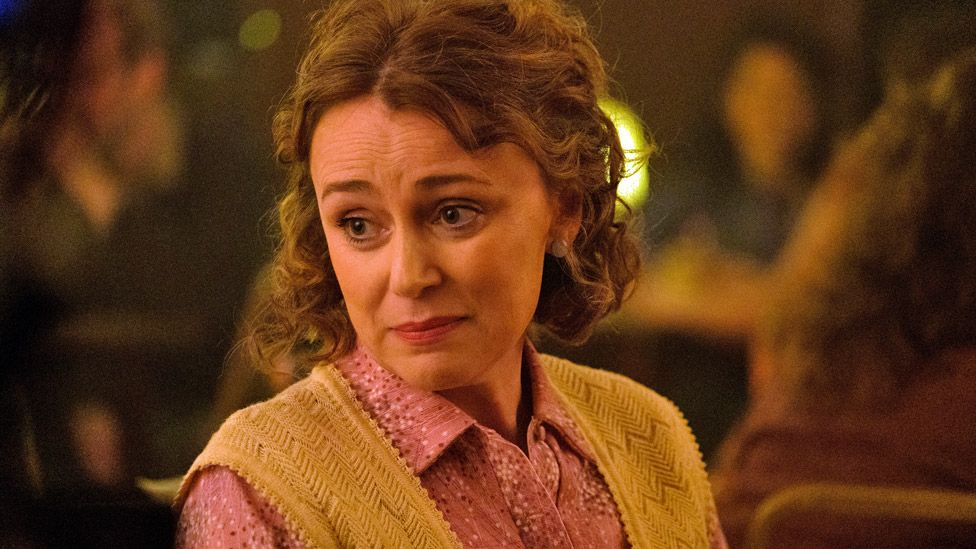 Keeley Hawes in It's A Sin