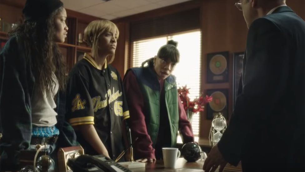 A scene from CrazySexyCool: The TLC Story