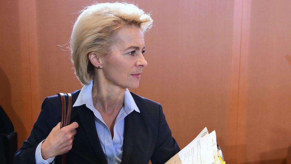 File photo of Ursula von der Leyen from 1 Dec 2015