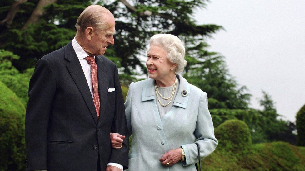 The Duke of Edinburgh and the Queen in 2007