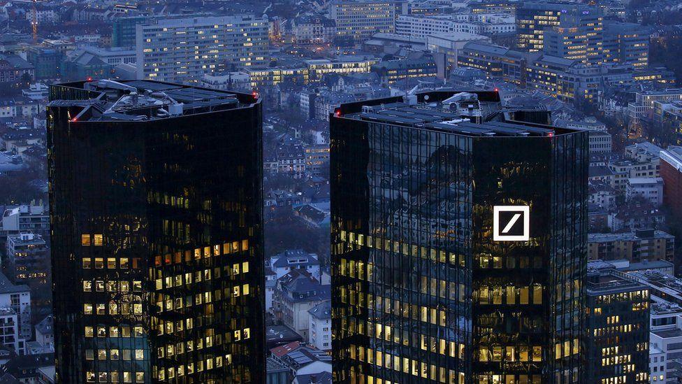 Deutsche Bank offices in Frankfurt