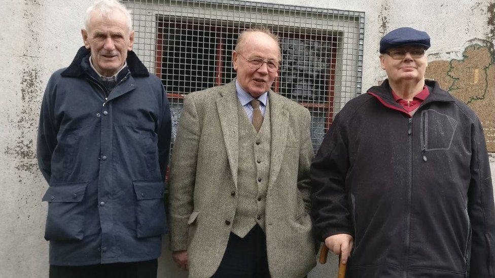 Micheal Kelly, Phil O'Donoghue and Paddy O'Regan