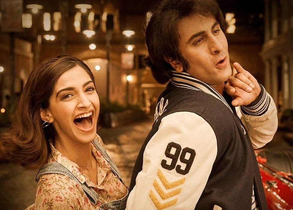 Poster of the film with Ranbir Kapoor and Sonam Kapoor