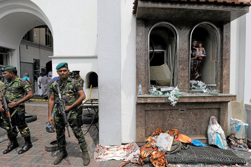 Sri Lanka attacks: 'I thought we had left all this violence behind us'