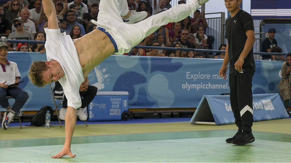 Russia's Bumblebee competes at the Youth Olympic Games in Buenos Aires